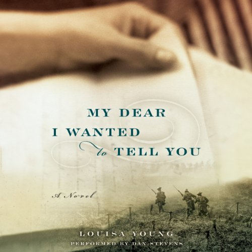 My Dear I Wanted to Tell You audiobook cover art