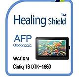 Screen Protector for WACOM Cintiq 16 DTK 1660, AFP Oleophobic Coating Screen Protector Clear LCD Shield Guard Film