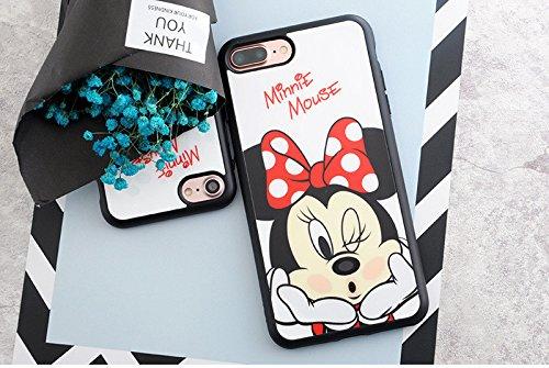 Carcasa flexible para iPhone 6 y 6S, diseño de Minnie Disney