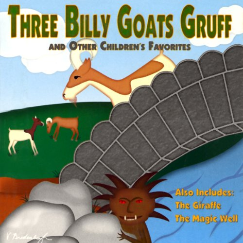 Three Billy Goats Gruff and Other Children's Favorites audiobook cover art