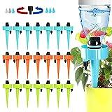 XUEEU Irrigazione A Goccia, 21 Pz Irrigazione Goccia Automatica,...