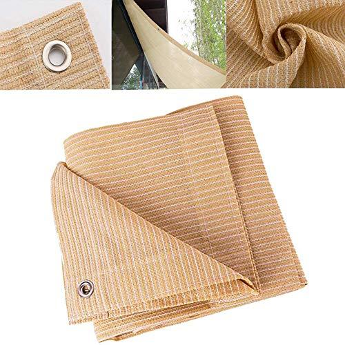 XISENOCI Sunblock Shade Cloth, UV-Block für Sonnenschutznetze im Freien, Shade Screen Netting für das Gewächshaus-Baldachin, mit Ösen für Garten, Holz, Schwimmbad und Auto