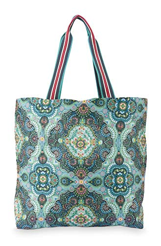 PiP Studio Foldable Bag Moon Delight Blue 48x15x35cm