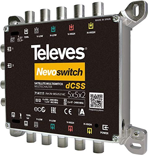 Televes Multischalter 4 in 2x16 MSU5416C