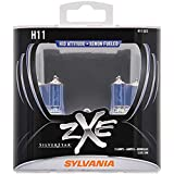 SYLVANIA H11 SilverStar zXe High Performance Halogen Headlight Bulb, (Contains 2 Bulbs)
