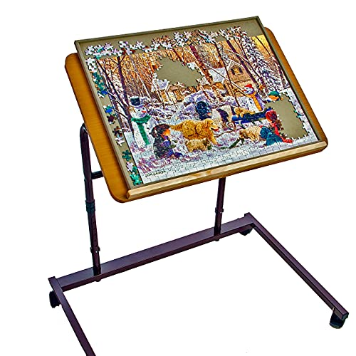 Jigthings - Jigtable - Jigsaw Puzzle Table Which Holds All 4 Jigboard Sizes