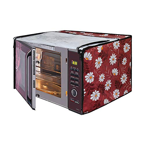 Glassiano Microwave Oven Cover for LG 21 Litre Convection Microwave Oven MC2146BL,...