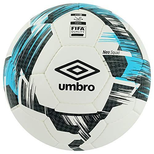 Umbro 26548U Neo Squad - Pallone da calcio omologato FIFA, taglia 4, colore: Blu