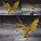 AMrjzr SHM Dragón de Tres Cabezas Godzilla Gidola Edición Especial Color Limitado Primera generación...