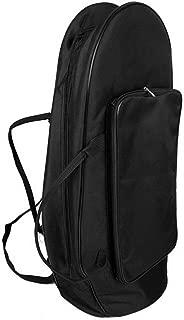 Kalaok Premium Abrasion Cloth Euphonium Gig Bag Baritone Case with Straps Large Capacity Brass Wind Instrument Accessories