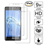 guran [3 pezzi pellicola protettiva per honor 6c / huawei nova smart smartphone ultra sottile screen protector in vetro temperato film ultra resistente