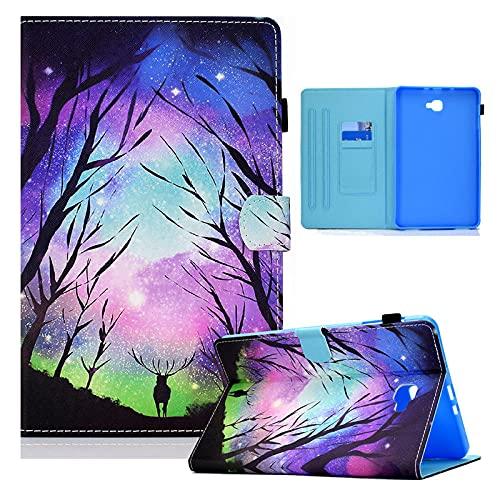 YYLKKB For Samsung Galaxy Tab A A6 10.1 2016 Case SM-T580 T585 Tablet Cute Kids Animal Cover For Samsung Galaxy Tab A6 Case Coque Funda-deer_SM-T580 SM-T585