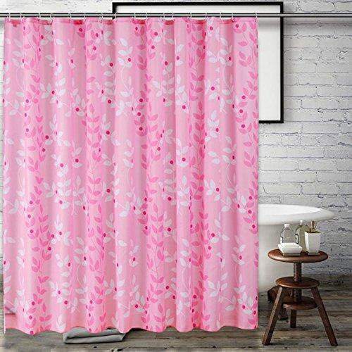 Douchegordijn Polyester Stof afdrukken Badkamerbenodigdheden Mildewproof Plain Badkamer Grote versie 120 * 200cm