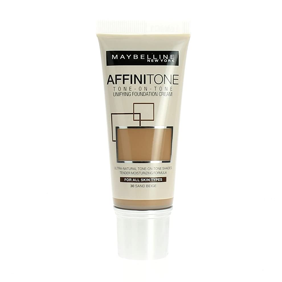 農奴蜜動機Maybelline Affinitone Unifying Foundation Cream (30 Sand Beige) 30 ml