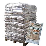 ▶ Premium Holzpellets als Einstreu für Pferde, DINplus & ENplusA1 zertifiziert, *0,39€/kg*, 960kg Palette, kostenfreie Lieferung, handlich verpackt in 64 Pakete à 15kg, Holz-Pellets