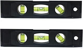 6-inch Magnetic Torpedo Level [ 2-Pack ], With 3 Bubble Spirit Level Torpedo Level Measuring Tool