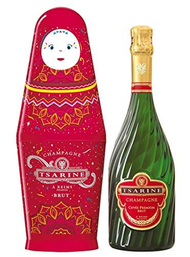 Tsarine Champagner BRUT Cuvée Premium Matriochka(1 x 0.75 l)