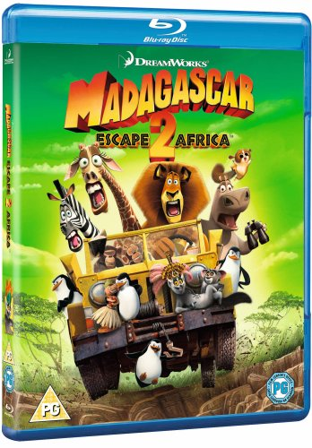 Madagascar - Escape 2 Africa [Blu-ray]