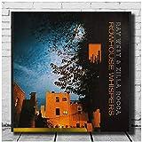 ad Ray West e Zilla Rocca LW Poster su Tela Stampa Artistica Album Rowhouse Whispers Stampe HD Poster su Tela -60x60cmx1pcs- Senza Cornice