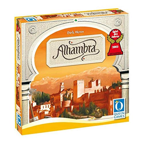 No Name (foreign brand) Queen Games Brettspiel Alhambra