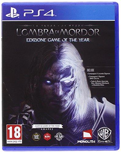 Warner Bros Middle-earth: Shadow of Mordor, GOTY, PS4 Game of the Year PlayStation 4 Inglés, Italiano vídeo - Juego (GOTY, PS4, PlayStation 4, Acción / RPG, M (Maduro), Soporte físico)