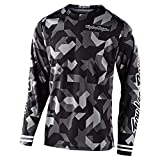 Troy Lee Designs Mens | Offroad | Motocross | GP Confetti Jersey (Black, Large)