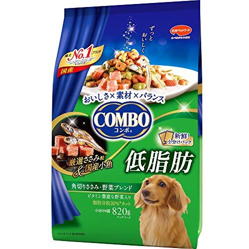 日本ペットフード コンボ『低脂肪 角切りささみ・野菜ブレンド』