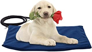 Almohadilla calefactora para Mascotas Perro Gato Almohadilla térmica eléctrica Impermeable Masticable Resistente al Calor Estera Cama Cama de Temperatura Constante Alfombra de Calentamiento