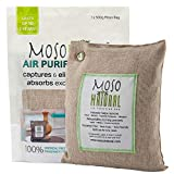 MOSO NATURAL Air Purifying Bag 500g. Odor Eliminator, Odor Absorber...