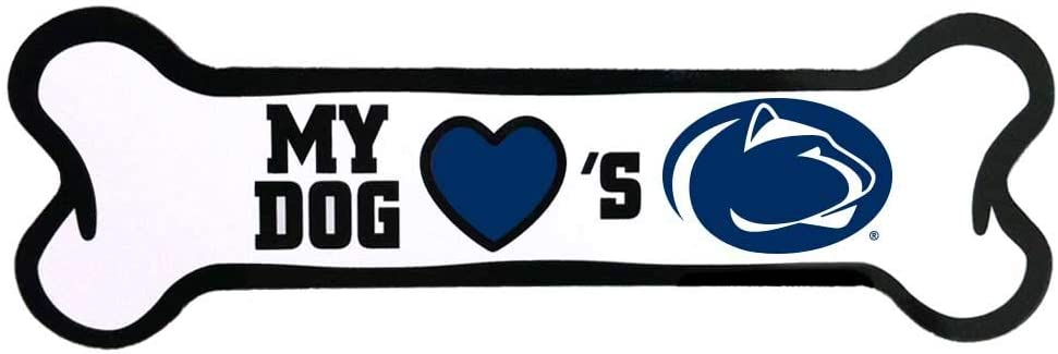 All Star Dogs NCAA online shop Penn State Gorgeous Magnet Bone Lions Shaped Nittany