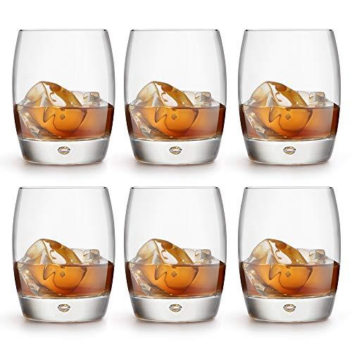 Libbey Vasos para Whisky Gles - 360 ml / 36 cl - 6 Piezas diseño Lujoso - Apto para lavavajillas
