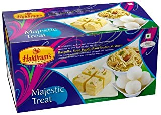 Diwali Sweets - Haldirams Majestic Treat Festive Pack, 900gm - Styledivahub® …