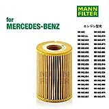 Mann Filter HU 821 X, Set de Filtro de aceite, juego de juntas, para automóviles