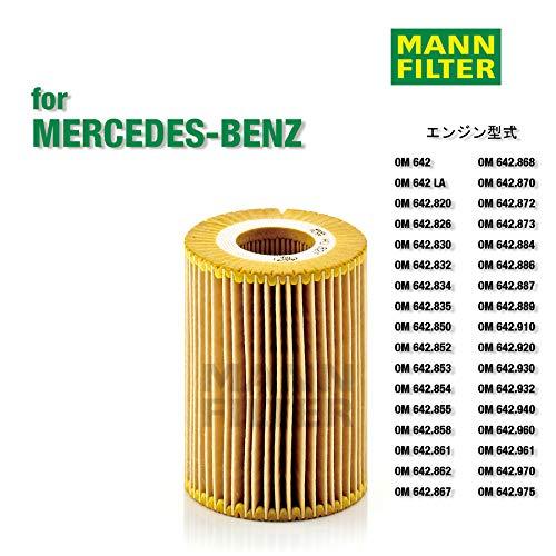 Originele MANN-FILTER oliefilter HU 821 X - oliefilterset met afdichting/afdichtingsset - voor auto's