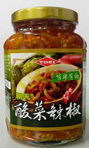 横浜中華街 酸菜辣椒 (唐辛子入り高菜漬け)  365g
