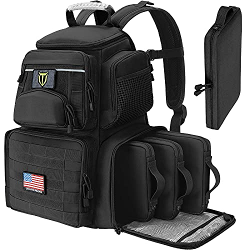 TIDEWE Tactical Range Backpack with Removable Divider,...