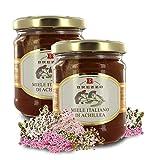 Miel de Aquilea (Milenrama) - Origen Italia - 250g (Paquete de 2 Piezas)