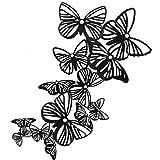 Decorazioni Farfalla, Adesivi Murali 3D Metallico, fai da te/Artificiali/Rimovibili/Decora...