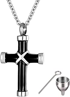 Pet Urn Pendant Necklace for Ashes for Men Women...