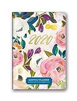 Bella Flora Monthly Pocket 2020 Planner