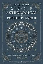 Llewellyn's 2019 Astrological Pocket Planner: Daily Ephemeris & Aspectarian 2018-2020