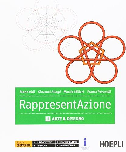 Rappresentazione. Vol. 1-2: Arte e disegno-Architettura e disegno. per gli Ist. tecnici per geometri. Con e-book. Con espansione online