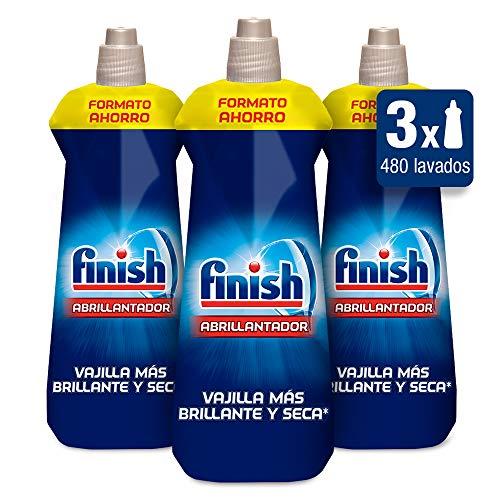 Finish liquide de rinçage normal pour lave-vaisselle Normal 800 ml (Pack of 3)