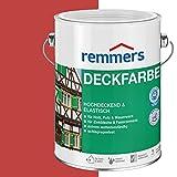 Remmers Deckfarbe - schwedischrot 750ml