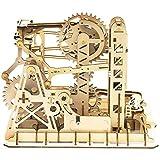 SHY Juego de Rompecabezas Juegos de Modelos de Madera en 3D Adultos Ingeniería mecánica Kits de construcción de Madera para Construir, Montaña Rusa