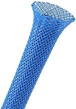 Techflex 1/4 Expandable Sleeving 25 ft. Neon Blue