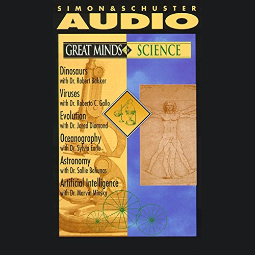 Great Minds of Science Audiobook By Dr. Robert Bakker, Dr. Roberto C. Gallo, Dr. Jared Diamond, more cover art
