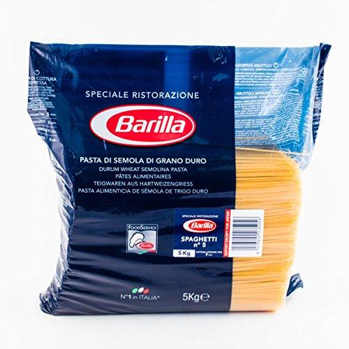 Barilla - Spaghetti n. 5 confezione da 5kg