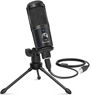 Panamalar USB Condenser Microphone,192KHZ/24BIT USB...
