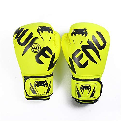 Ziyi Guantes de Boxeo para Entrenamiento, Muay Thai, Sparring, Kickboxing, Lucha, Focus...